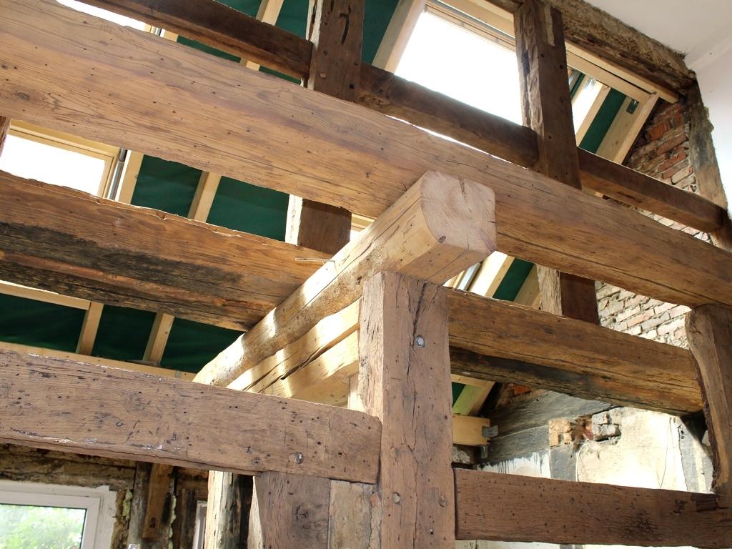 fachwerk sanierung wohnbereiche streamtec hannover. Black Bedroom Furniture Sets. Home Design Ideas