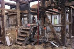 kosten-feinstrahlen-sandstrahlen-wohnraum-balken-vorher