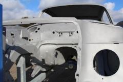 Mercedes-280-sec-restauration-entlacken-sandstrahlen.3