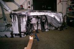 MercedesW116 Falze versiegelt