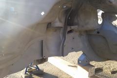 MercedesW116-Radhaus-sandgestrahlt
