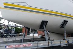 Segelboot-Antifouling-entfernen