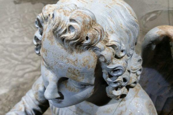 Engel Gusseisen 18. Jahrhundert